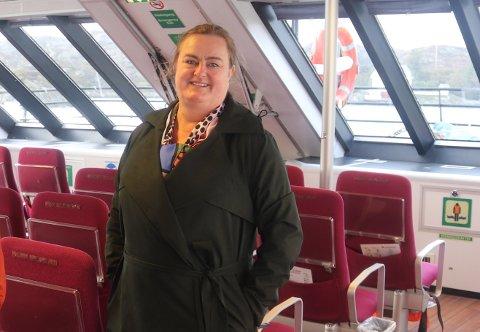 NORGESFERIE 2021: Investor og gründer Margaret Hystad i Viking Adventure er klar for å lansere luksusyacht-tilbud.
