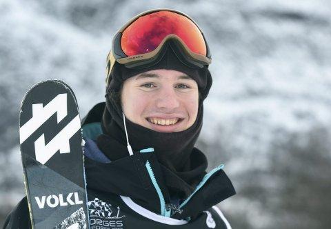 VANT: Trym Sunde Andreassen vant lørdagens norgescupkonkurranse på Oppdal.foto: hostvedt