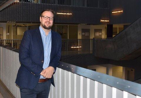 FIKK JOBBEN: Nils Ivar Pedersen ble ansett som mest interessant til jobben som prorektor ved Fagskolen i Kongsberg. Han får ansvaret for den daglige driften.