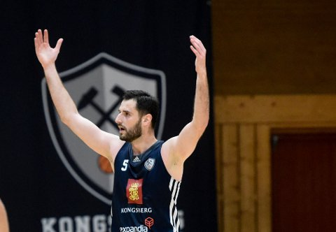VANT LETT: Ognjen Nisavic og Miners vant greit mot Centrum Tigers.