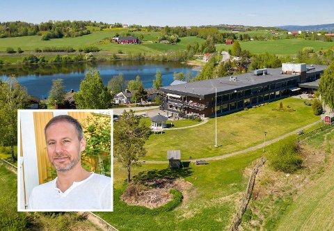 Et Villa Skaar-hjem: Slik beskriver Richard Skaar Thorsrud det nye hjemmet Skaar Omsorg har kjøpt på Lunner.