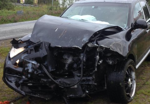 Etter ulykken var det lite igjen av både Melissas Porsche, og bilen som traff henne.