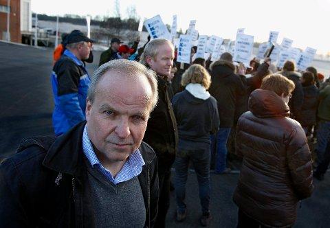 ENGASJERT: Øyvind Kjølberg, leder av Jordvernalliansen for Oslo og Akershus, håper mange dukker opp utenfor rådhuset i Vestby for mandagens markering.
