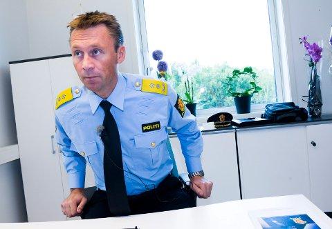 HØY TILLIT: Politimester Steven Hasseldal i Øst politidistrikt lover at politiet skal bli enda mer synelige i lokalmiljøene.