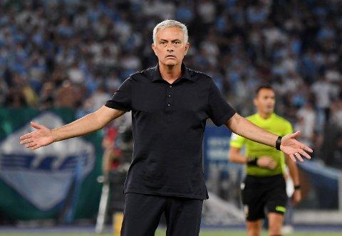 FÅR IKKE FRI: Spillerne fikk ikke engang dra hjem av José Mourinho etter kampen mot Bodø/Glimt.