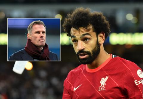 FÅR ROS: Søndag leverte Mohamed Salah varene igjen og nå håper Jamie Carragher på ny kontrakt for egypteren.