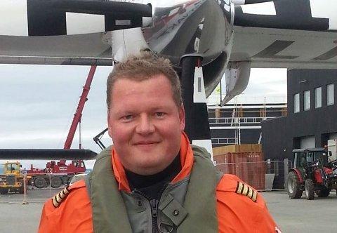 Kent Antonsen fra Tromsø (47) er den nye flygesjefen i Babcock.