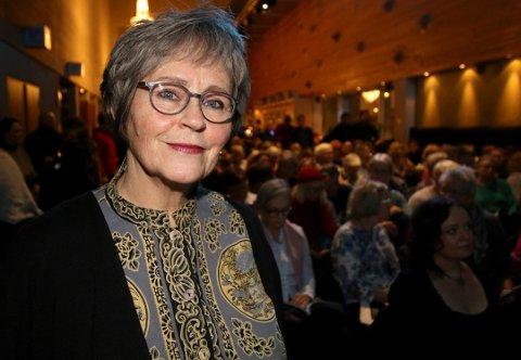GÅR AV: Martha Otte takker for seg etter neste filmfestival i 2020.