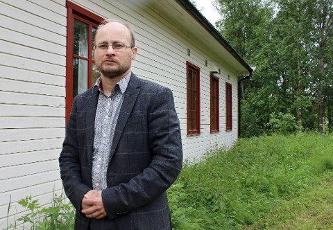 Nils Einar Samuelsen, populær mann hos KrF-velgerne.