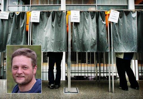 OMTELLING: Kai Petter Johansen (innfelt), SV-politiker i Kvænangen, mener at det er god grunn til å telle forhåndsstemmene på nytt.