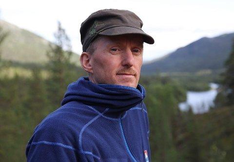 Geir Tomasjord, kommunestyrerepresentant for SV i Nordreisa og lokallagsleder for Naturvernforbundet.