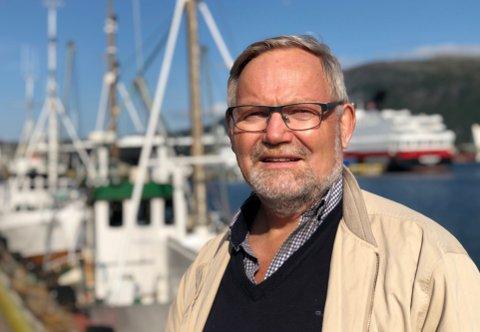 JA TIL BANE: Steinar Eliassen, administrerende direktør i Norfra snakker for hvitfisken, villfisken, torsken.