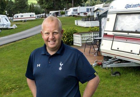 UNDERKAPASITET: – Pågangen er stor ved campingplassene, sier turistsjef Arne Jørgen Skurdal.
