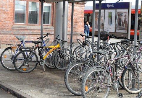 SYKKELHOTELL: Gjøvik har fått to millioner kroner til etableringen av sykkelhotell ved sykehuset og Gjøvik videregående skole.