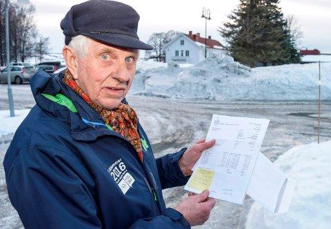 AVGIFTSHOPP: - Årets første kvartalsregning fra kommunen er 1500 kroner større enn noen gang tidligere. Nå er det mer enn nok, mener Gunnar Gjerdalen på Kapp.