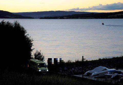 FUNNET: En kvinne ble funnet omkommet ved Bondelia strand onsdag kveld.
