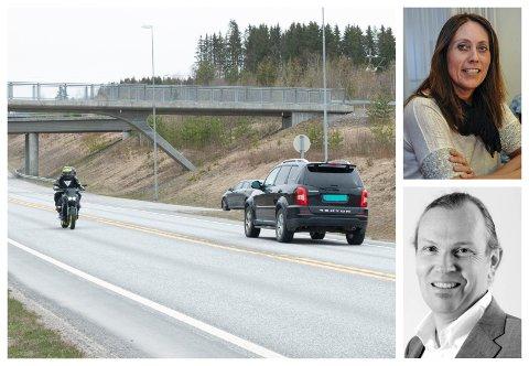 Sigrid Skjølås i Statens vegvesen inviterer til oppklaringsmøte om riksvei 4. Finn Aasmund Hobbesland takker nei i denne omgang.