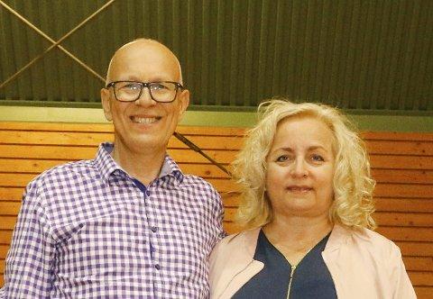 FRIKIRKE: Familiekirken og pastorparet Egon og Maryann Davidsen jobber for å få en krisen frikirke til Nordre Follo.