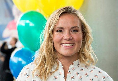 FORLOVET: Helene Olafsen fra Oppegård har forlovet seg med samboeren Jørgen Nilsen.