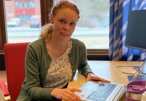 GLEDELIG: Konstituert kommuneoverlege Monica Viksaas Biermann kommer med flere gledelige nyheter tirsdag.