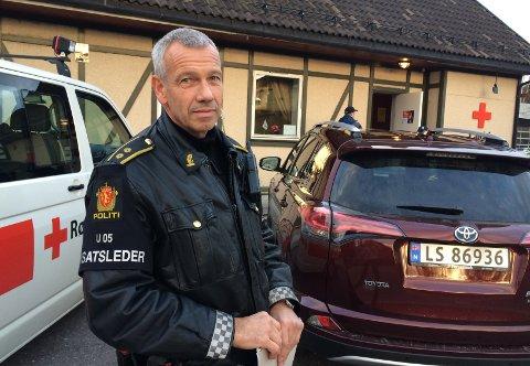 LETEAKSJON: – Vi frykter han har syklet av veien og vært utsatt for en ulykke, sier innsatsleder i Vestfold-politiet, Rune Andersen