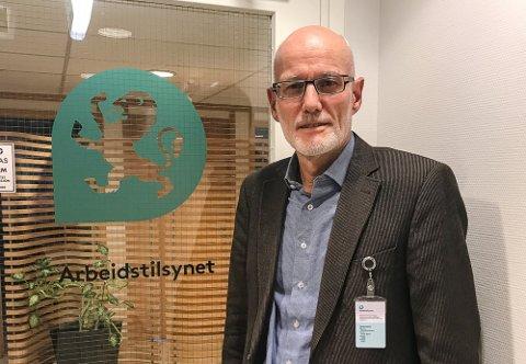 NY LEDER: Arve Semb Christophersen (60) har vært regiondirektør i Arbeidstilsynet i ti år, og var før det rådmann i Lardal og Larvik kommuner.