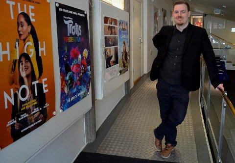 Øystein Egge festivalsjef Movies on War