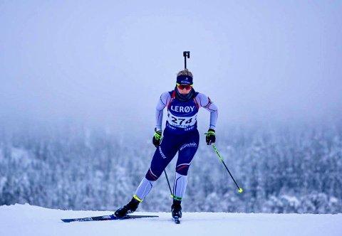 JUNIOR-VM: Guri Sandvold (22) fra Tynset er tatt ut til junior-VM i skiskyting.