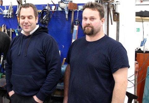 GODE RESULTATER: Driverne Kim Ellefsen og Einar Solberg har grunn til å være fornøyde med resultatutviklingen.