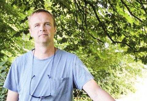 Satse på barna: Anders Rambekk vil prioritere barna i saken om ny barnehage og uteområdet på Øvre Frednes.
