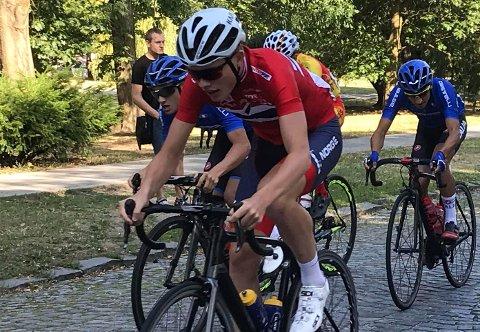 Dennis Gråsvold er tatt ut til å representere Norge i Sveits. privat
