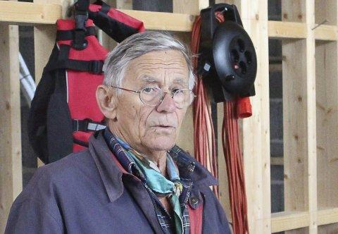 SPENT: Arkitekt Amlie venter på avgjørelse i hyttemaraton.