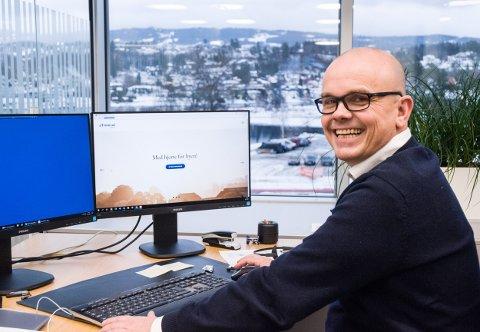 SALGSSJEF: Ståle Hjerpseth er ny salgssjef hos Tronrud Eiendom.