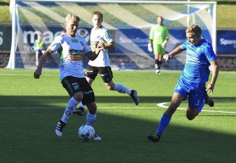 Tilbake i HBK: Sigurd Svendsen var glad for å bidra til at det ble seier på Notodden med sitt presise innlegg som ga 2–1.