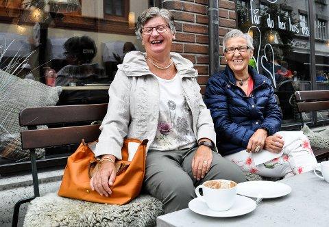 Gerd Torp Andersen og Tordi Aarhaug.