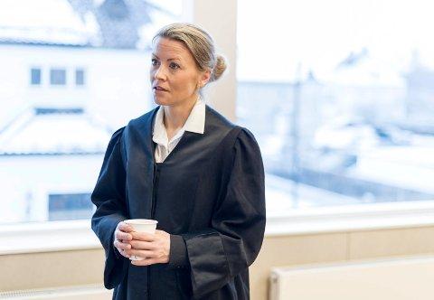 PÅSTAND: Aktor, statsadvokat Mari Gjersøe, ba om sju års fengsel for den tiltalte.