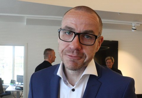VIGSELSRETT: Ullensaker-ordfører Tom Staahle.