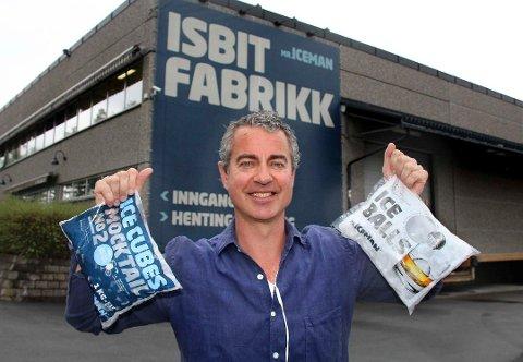 VIL UTVIDE: Jack Stensland ønsker å sette opp et tilbygg til dagens isbitfabrikk.