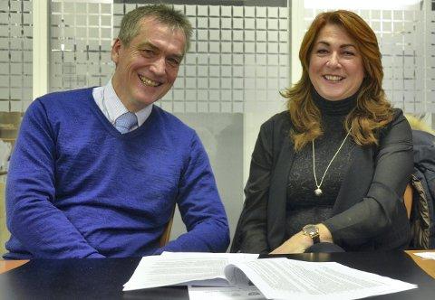 NYTT: Nytt i Røyken er utvalg for miljø, klima og samferdsel, der Elisabeth Holter-Schøyen (V) er leder og Jan Syrstad (H) er nestleder.