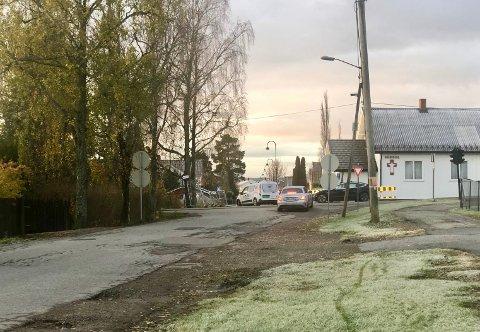 MILJØGATE: Det er langs Teglverksveien kommunen har tiltenkt en miljøgate.