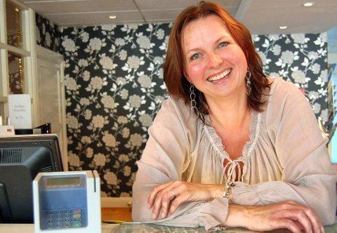 HOTELLDIREKTØR: Kari-Ann Norén, hotelldirektør ved Clarion Hotel Atlantic har registrert kritikken fra den amerikanske gjesten.