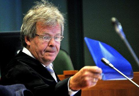 NARKOSAK: Politiadvokat Nils Vegard er aktor under narkosaken mot den IS-siktete 45-åringen i Sarpsborg tingrett på fredag. Mandag ble 45-åringen varetektsfengslet i ytterligere åtte uker av Oslo tingrett, som mener det er fare for at han vil returnere til Syria ved løslatelse.FOTO: JARL M. ANDERSEN