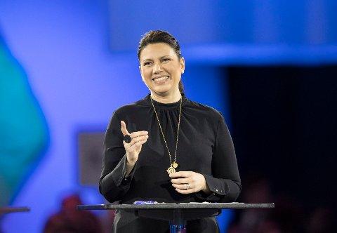 Stortingsrepresentant Heidi Nordby Lunde fra Høyre er fornøyd.