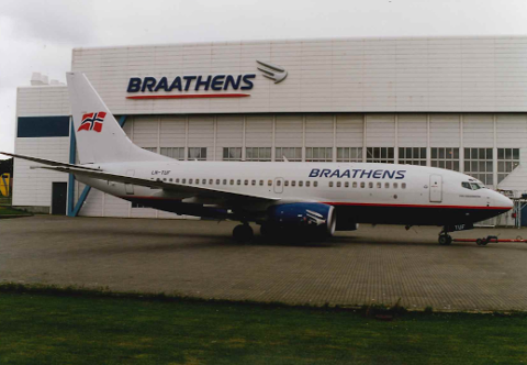 Braathens sine hangarer er snart historie.