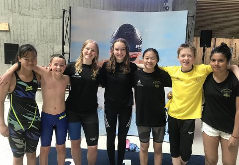 Sola-svømmerne tok hele 15 medaljer under Techouse Open.