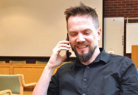 TIL STAVANGER: Dei som treng å ta ein koronatest i påska, må gjera det i Stavanger, opplyser Bjarte Sørensen.