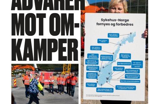 REAGERER: Stortingsrepresentant Terje Aasland (Ap) reagerer kraftig på at Sykehuset i Telemark ikke er inkludert i kartet over norske sykehus som skal forbedres.