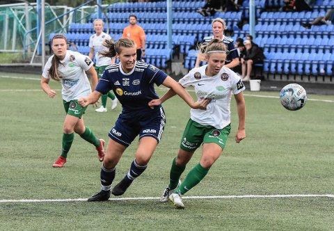 DEBUT: Inger Vadder Sandland debuterte mot Nanset.