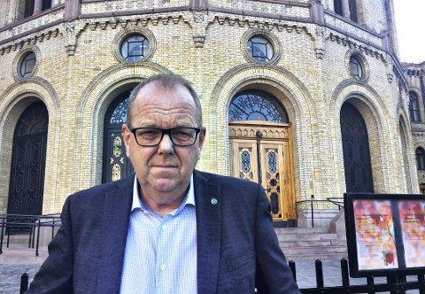 Utålmodig: Pål Farstad understreket fra Stortingets talerstol onsdag at han forutsetter en snarlig realisering av opera- og kulturhuset i Kristiansund. ARKiVFOTO