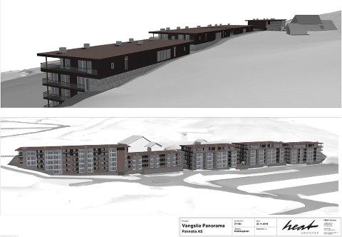 Vangslia Panorama slik Heat arkitekter har skissert det.